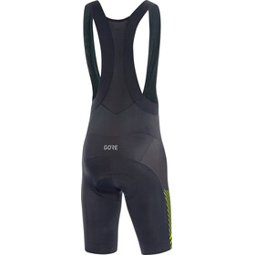 GORE WEAR C3 Bib Shorts Men black/citrus green